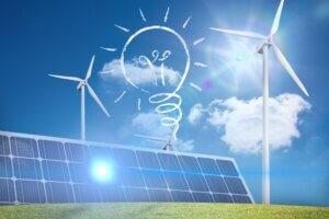 מערכת סולארית מסחרית - אילוסטרציה